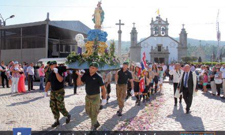 Comunidade participou na procissão de Nossa Senhora de Assunção