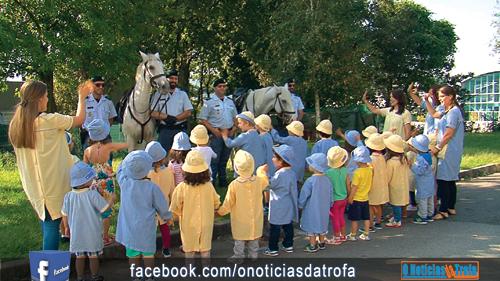 Creche e Jardim-de-infância celebram dia do animal