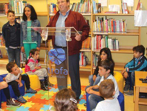 Escola da Lagoa ganhou biblioteca