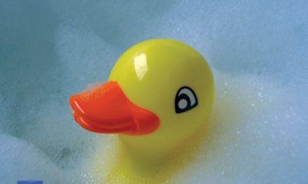 Enquanto está na casa de banho…