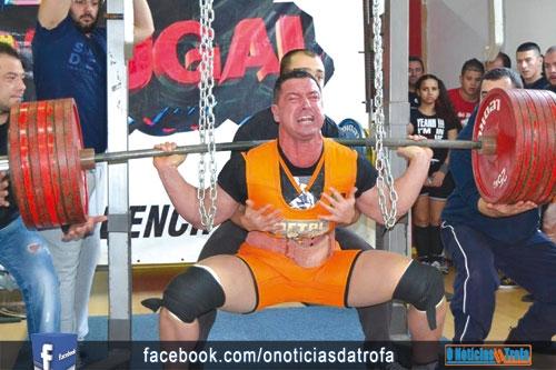 Alvarelhos recebeu prova nacional de powerlifting