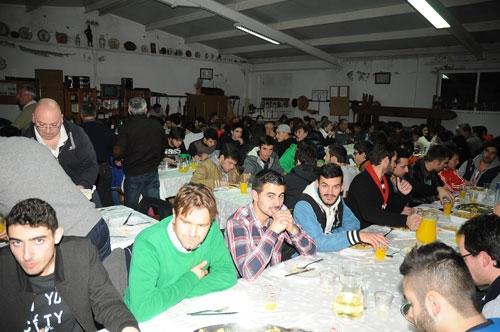 Atlético Clube Bougadense promoveu ceia de Natal