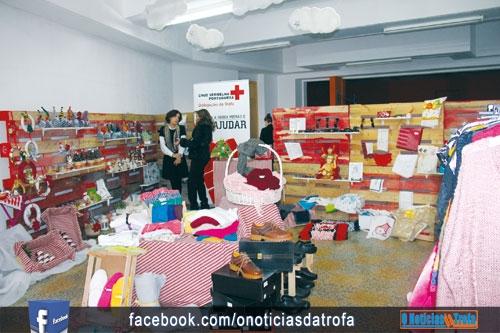 Cruz Vermelha apresenta loja natalícia (c/video)