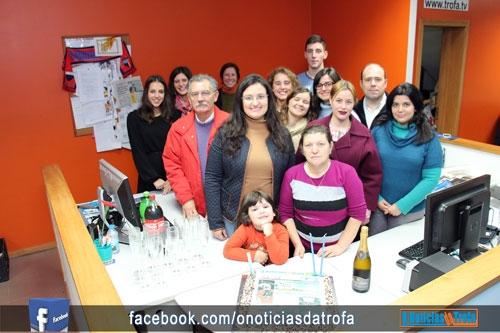 Dia de festa na redação d' O Notícias da Trofa