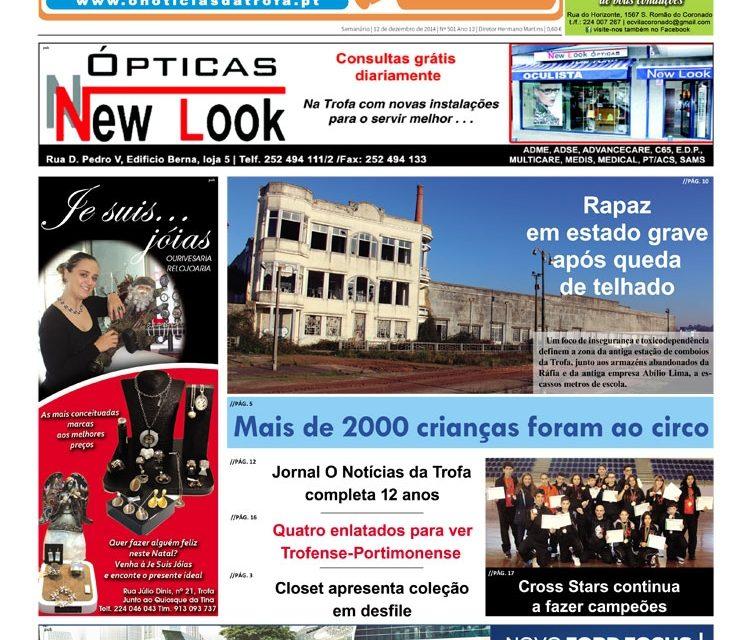 Jornal O Notícias da Trofa completa 12 anos