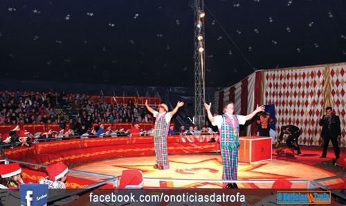 Mais de 2000 crianças foram ao circo (c/video)