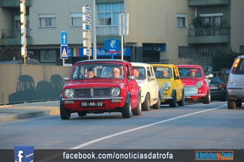 Minis invadiram ruas do concelho