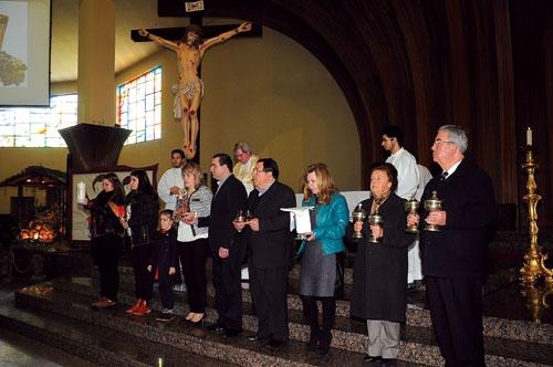 Paróquia de S. Martinho homenageou famílias