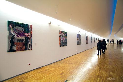 Martinho Dias inaugurou exposição em Espinho
