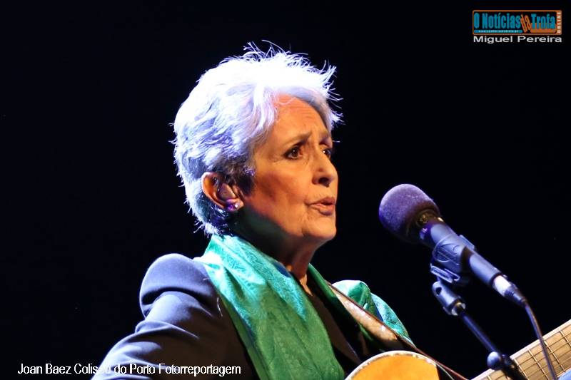 Joan Baez no Coliseu do Porto Fotorreportagem