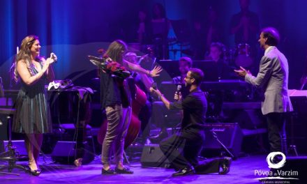 Pedido de casamento de musico da Trofa no concerto de Rui Nova e convidados no CINE-TEATRO GARRETT, na Povoa de Varzim.
