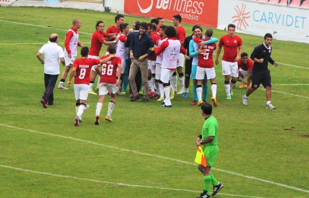Trofense mantém-se na Taça, ao vencer nas penalidades