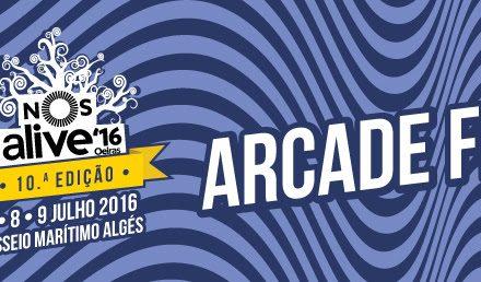 Arcade Fire confirmados no NOS Alive'16