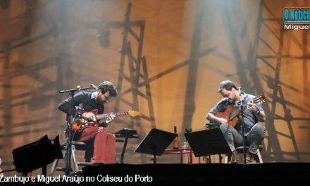 António Zambujo e Miguel Araújo no Coliseu do Porto Fotogaleria