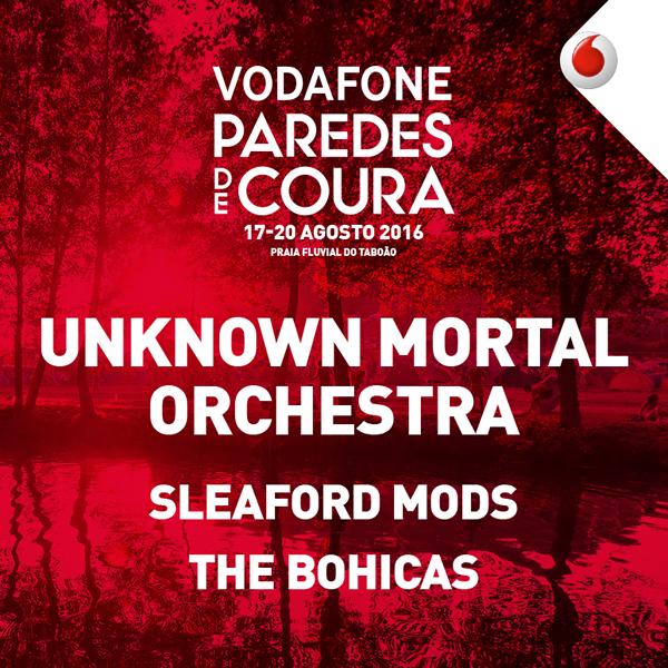 Vodafone Paredes de Coura 2016 com novas confirmações