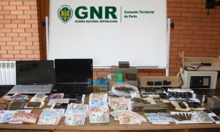 Operação de combate ao tráfico de droga faz 11 detidos e apreende mais de 11 quilos de haxixe e 32 mil euros em dinheiro