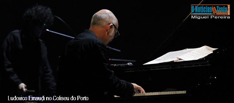 Ludovico Einaudi no Coliseu do Porto Fotogaleria