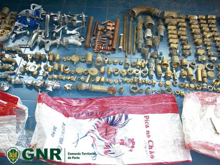 GNR recupera 50 quilos de metais