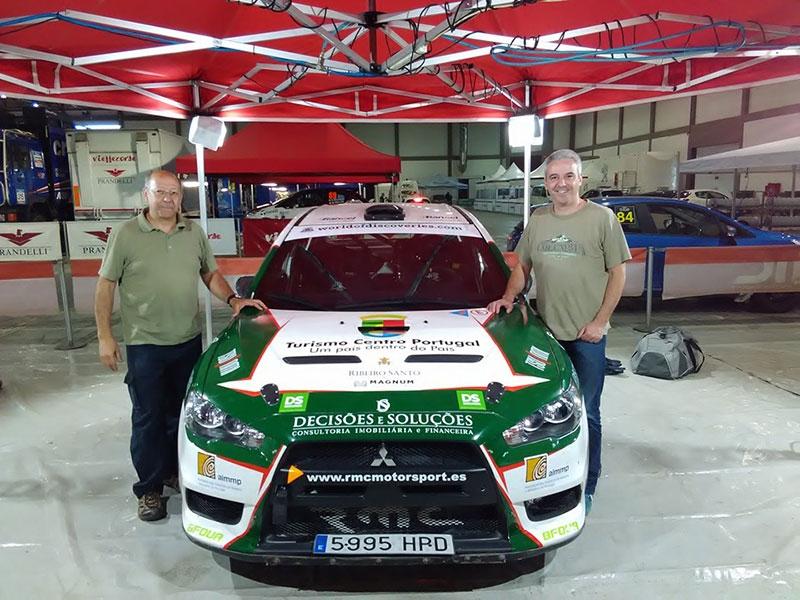 Jorge Carvalho foi copiloto de jornalista da RTP no Rally