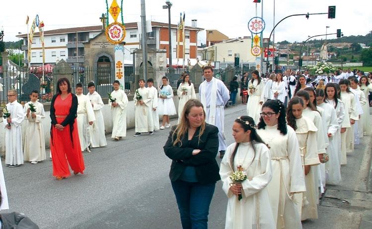 Profissão de Fé em dia de Nossa Senhora de Fátima