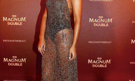 Rita Pereira arrasa com vestido de Micaela Oliveira
