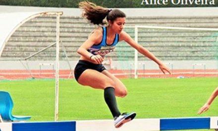 Alice Oliveira no Olímpico Jovem Nacional