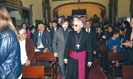"""D. Pio Alves visitou """"comunidade paroquial viva e intensa"""""""
