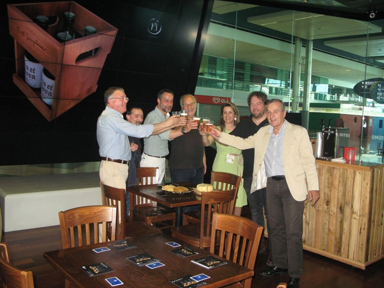 Empresa trofense de cerveja artesanal no Aeroporto