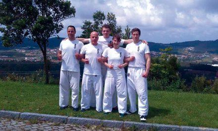 Escola de Alvarelhos  representa Portugal no Campeonato  Espanhol de Kyokushin