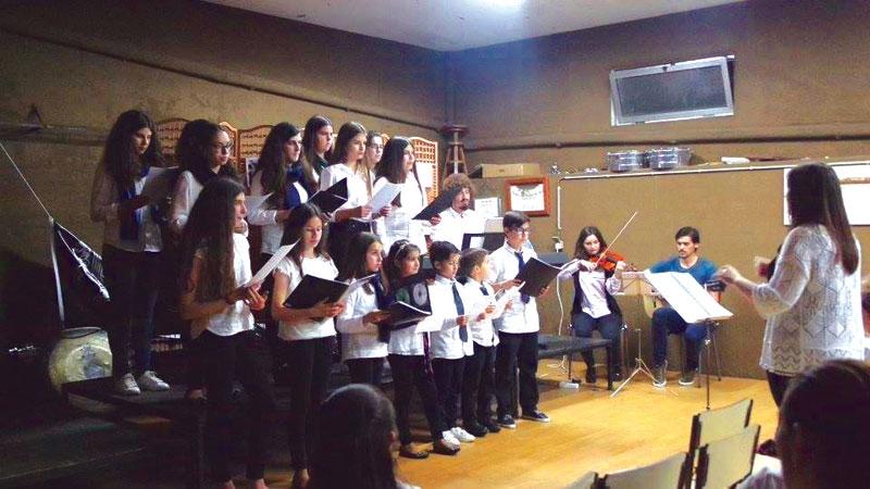 Escola de Música com audição geral