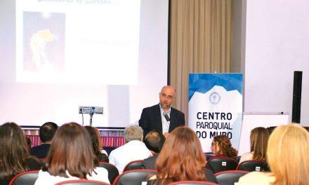 Frei Fernando Ventura protagonizou a primeira conferência do Slotcar