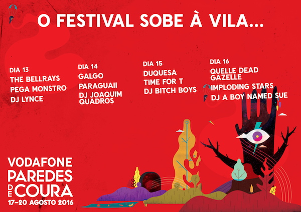 Festival Vodafone Paredes de Coura sobe à Vila