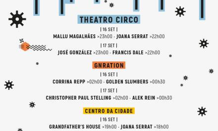 Festival Para Gente Sentada'16 – Horários