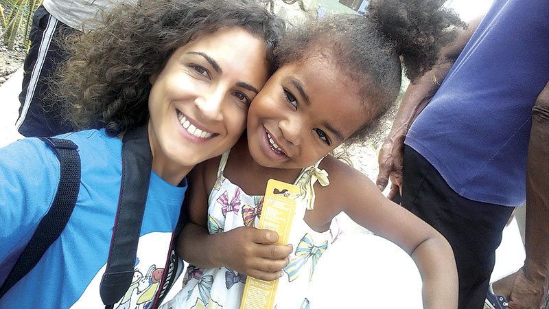 Trofense em missão solidária em Cabo Verde