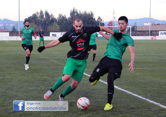 Bougadense A perde e equipa B empata