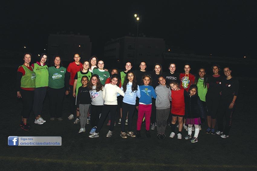 Escolinha de Rugby promoveu convívio de mulheres