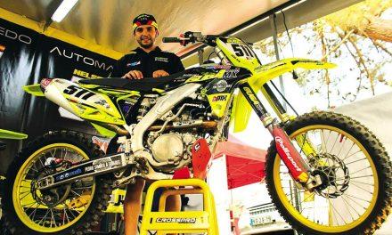 Piloto trofense abandona Motocross