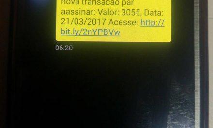 SMS's do banco podem ser uma armadilha
