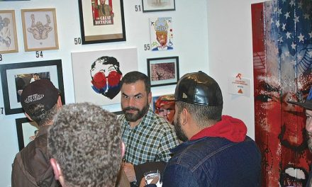 Trump desagradado com exposição onde participou ilustradora trofense