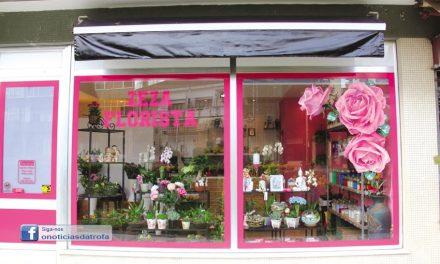 Zeza florista abriu no centro da Trofa