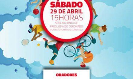 Ciclo de Conferências Desportivas da JS começa sábado