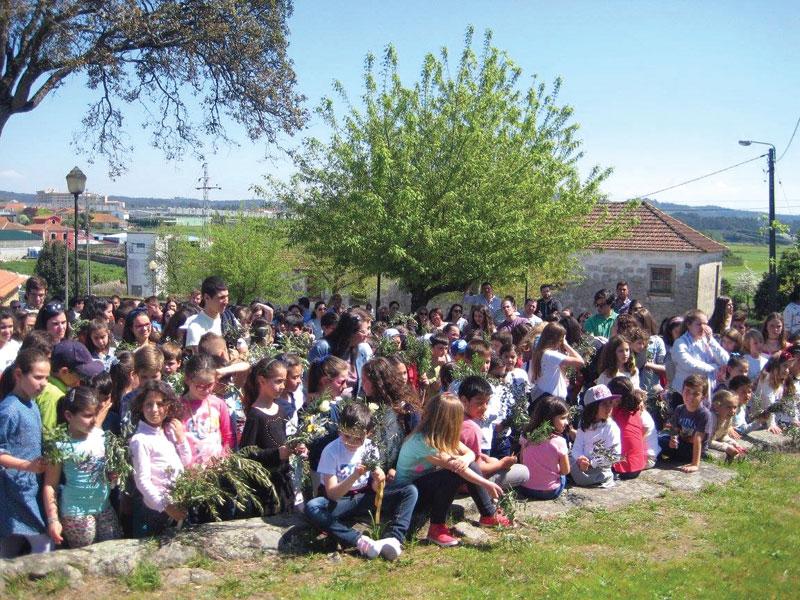 Cristãos participaram no Dia de Ramos