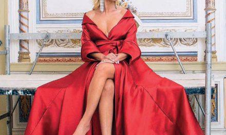 Cristina Ferreira usa vestido de Micaela no relançamento da sua revista
