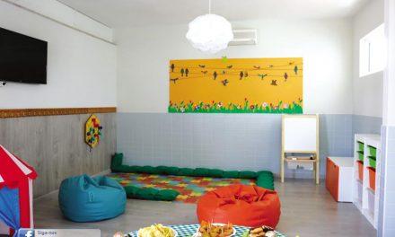 Giesta tem jardim de infância e ATL renovados
