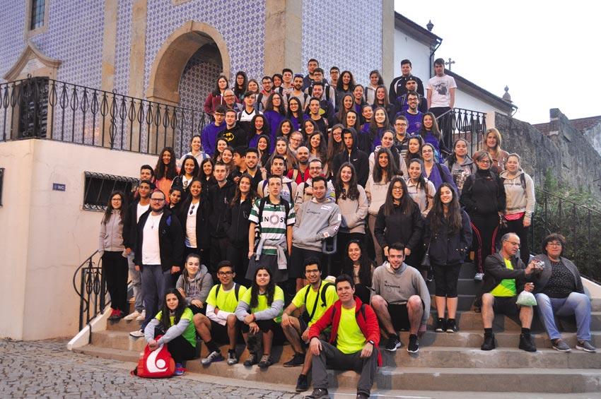 Jovens da Vigararia em peregrinação à Sé Catedral