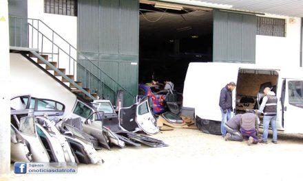 Mais de 1 milhão de peças de automóveis apreendidas