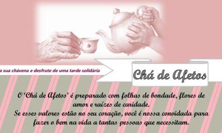"""Quinta da Alegria recebe """"Chá de Afetos"""""""