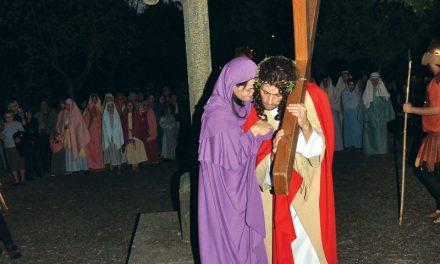 Recriados os últimos passos de Jesus Cristo