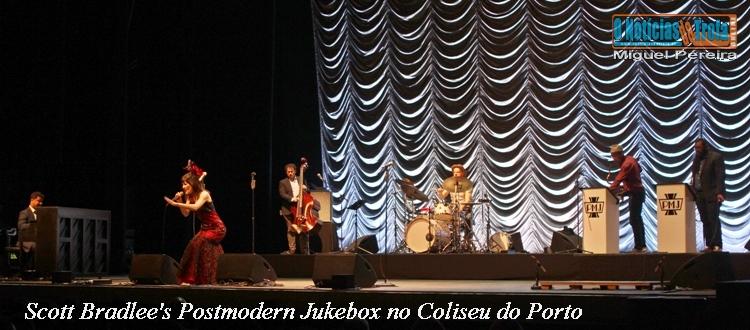 Scott Bradlee's Postmodern Jukebox no Coliseu do Porto – Fotogaleria