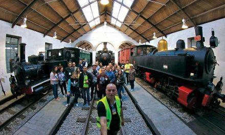 Património ferroviário da Trofa na mira dos fotógrafos